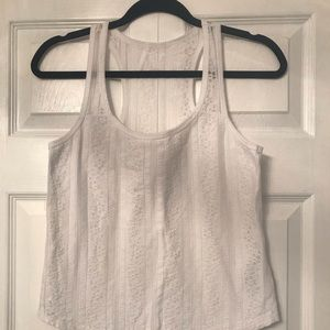 Hollister Racerback crop top